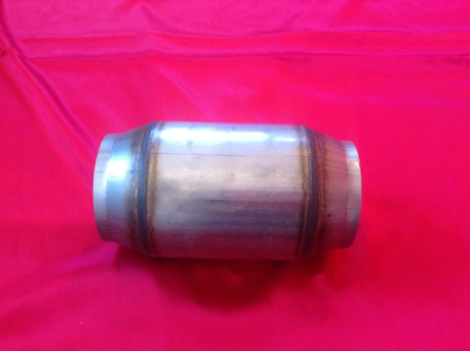 "2.5"" 200 cell Diesel High Flow Race Cat Metal Core Catalytic Converter 63.5mm - Click to enlarge picture."