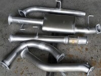 "Toyota Prado Wagon CRD 150 series KDJ150R 2009 - 2013 Auto 3"" Exhaust with cat 409 Stainless Steel 3 inch Turbo Back Exhau"