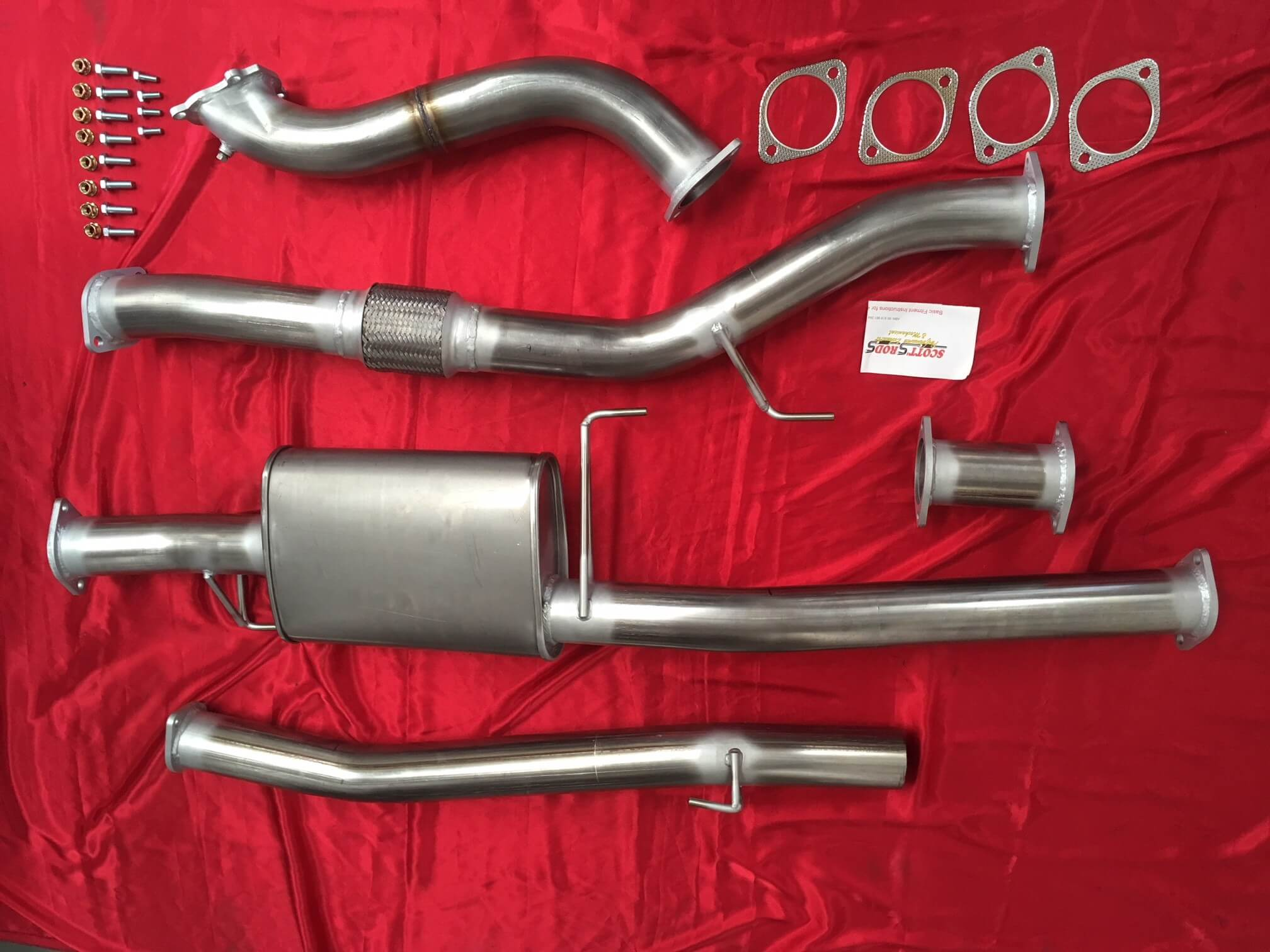 Turbo Diesel 4x4 Exhaust Kits